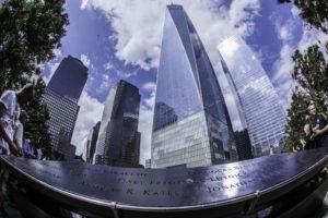 Les illuminations du One World Trade Center