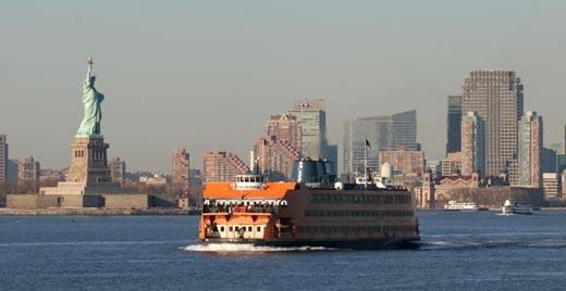 Voir la statue de la liberté gratuitement via Staten Island Ferry