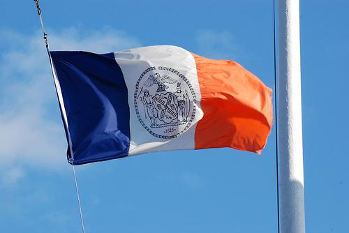 Le drapeau de New York