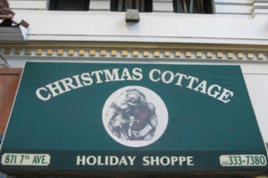 Shopping à New York : Acheter des décorations de Noël au Christmas Cottage