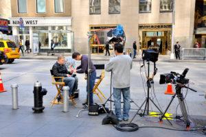 Les séries télévisées sur NYC