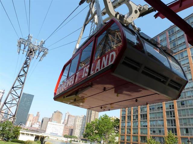 Survoler New York avec le Roosevelt Island Tramway