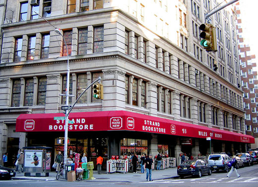Shopping à New York : La librairie Strandbooks