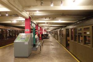 Visiter le NYC Transit Museum (Musée du métro New Yorkais)