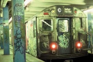 Le graffiti dans le métro de New York des années 70-80