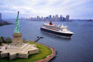 Se rendre à New York en bateau