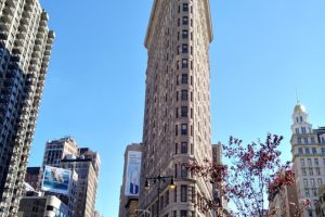 Zoom sur le Flatiron building