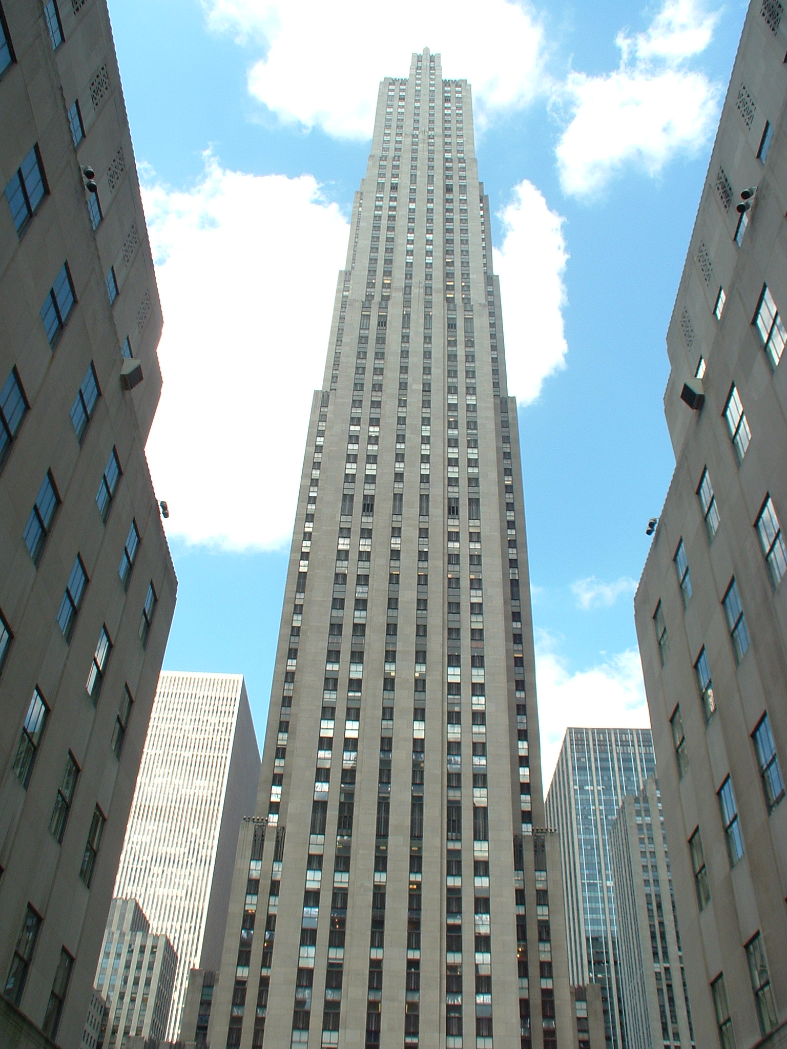 Zoom sur Rockfeller Center